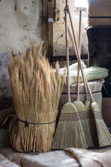 Brooms & Millet