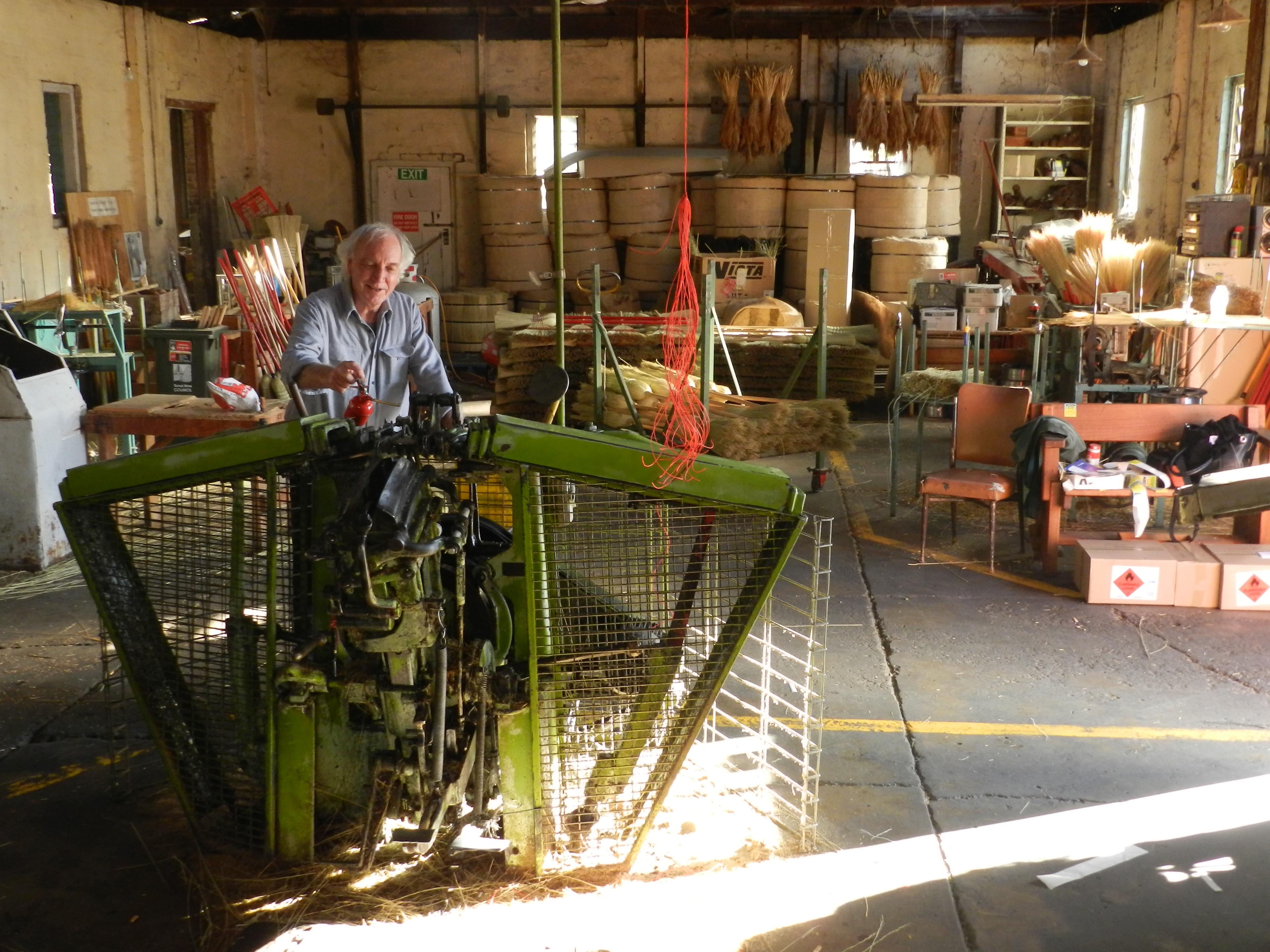 Tumut Broom Factory   Handmade millet brooms since 1946