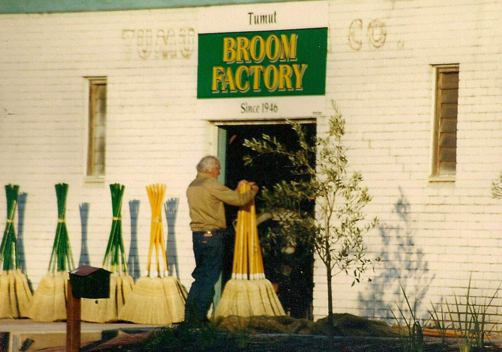 The Broom Making Process   Tumut Broom Factory