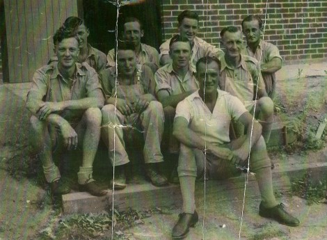 Tumut Broom Factory workers in 1955